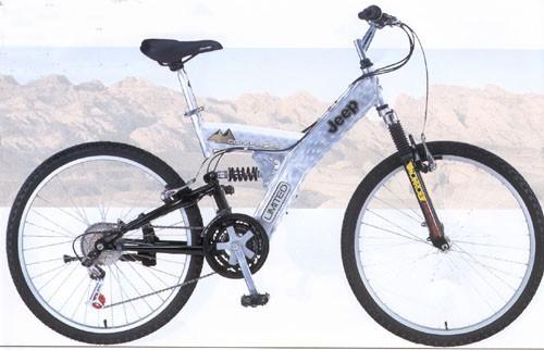 Used Jeep mountain bike bicycle